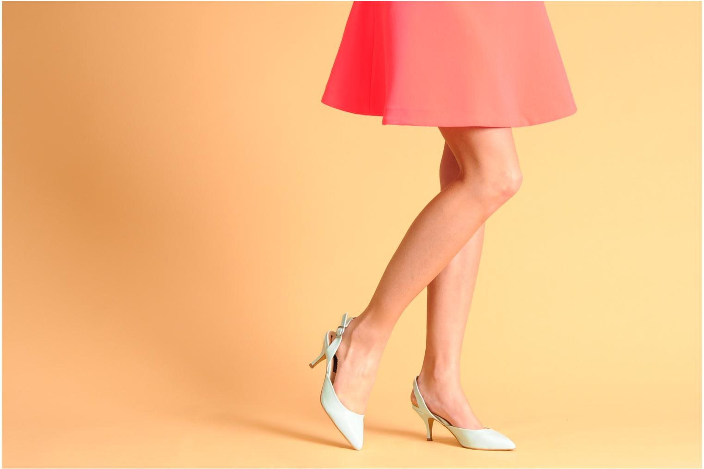 Escarpins I Love Shoes Phonside Rose vue bas / vue portée sac