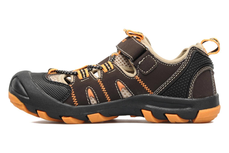 Sneakers Kangaroos Beni Bruin voorkant