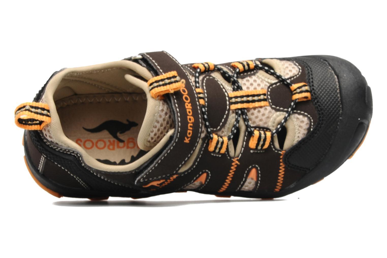 Sneakers Kangaroos Beni Bruin links