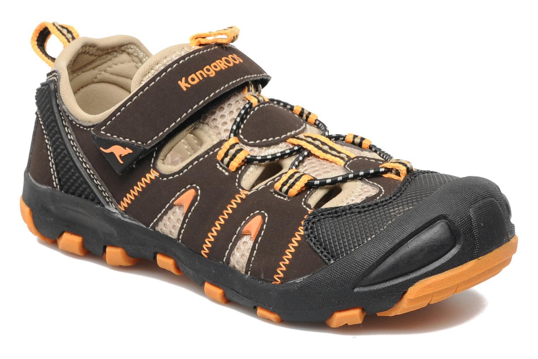 Sneakers Kangaroos Beni Bruin detail