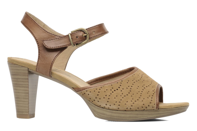 Sandales et nu-pieds Caprice FOULLIA Beige vue derrière