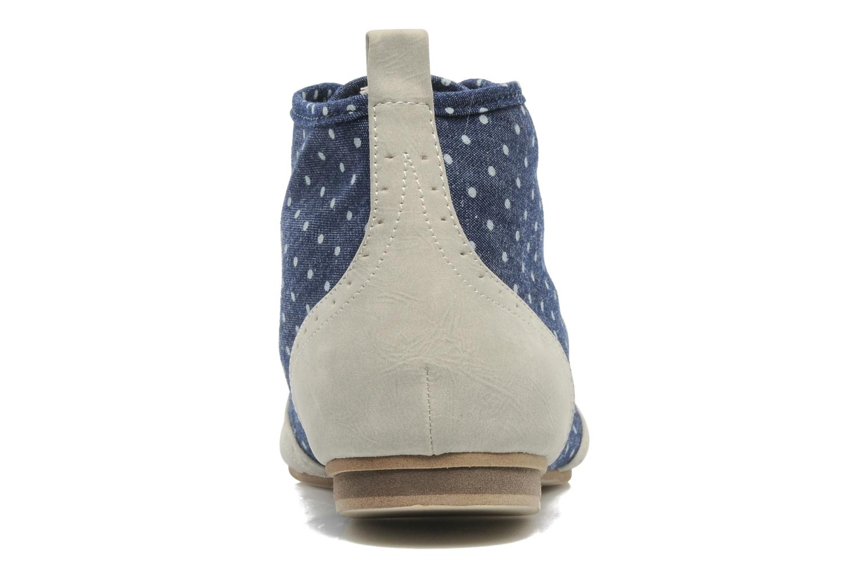Chaussures à lacets One Step Venicia Bleu vue droite
