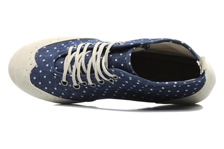 Chaussures à lacets One Step Venicia Bleu vue gauche