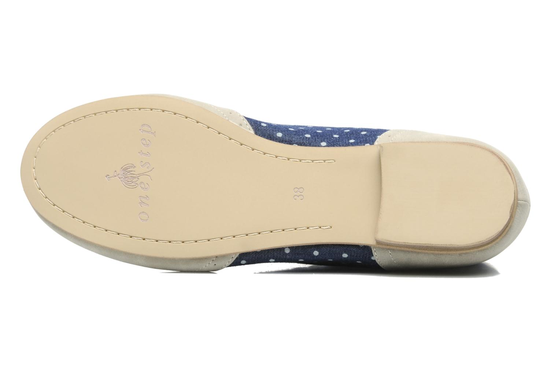 Chaussures à lacets One Step Venicia Bleu vue haut