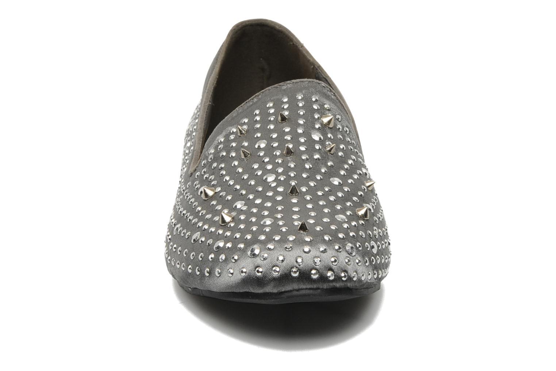 Mocassins Les Tropéziennes par M Belarbi Chimago Gris vue portées chaussures