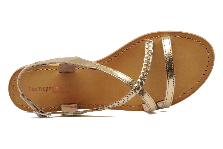 Sandales et nu-pieds Les Tropéziennes par M Belarbi Hanano Or et bronze vue gauche