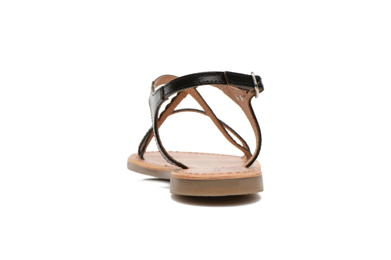 Sandalen Les Tropéziennes par M Belarbi Hanano schwarz ansicht von rechts