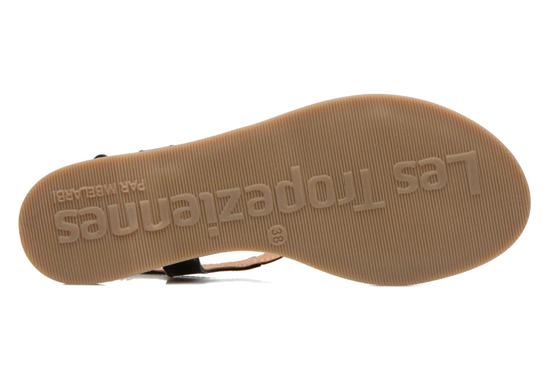 Sandales et nu-pieds Les Tropéziennes par M Belarbi Hanano Noir vue haut
