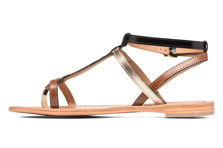 Sandales et nu-pieds Les Tropéziennes par M Belarbi Hilan Marron vue face