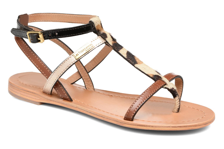 Sandales et nu-pieds Les Tropéziennes par M Belarbi Hilan Marron vue détail/paire