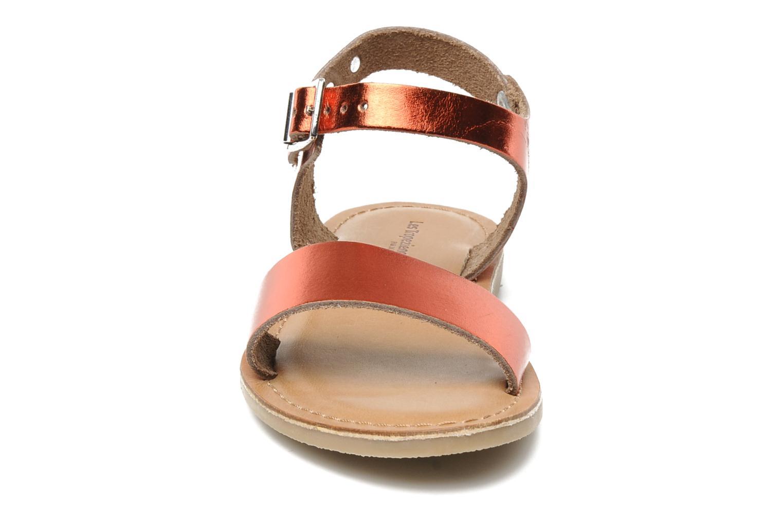 Sandalen Les Tropéziennes par M Belarbi Hiliona E rot schuhe getragen