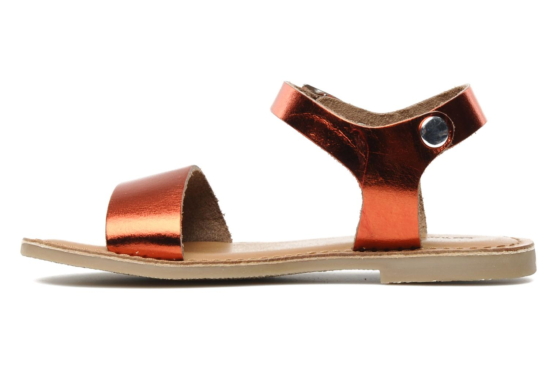 Sandales et nu-pieds Les Tropéziennes par M Belarbi Hiliona E Rouge vue face