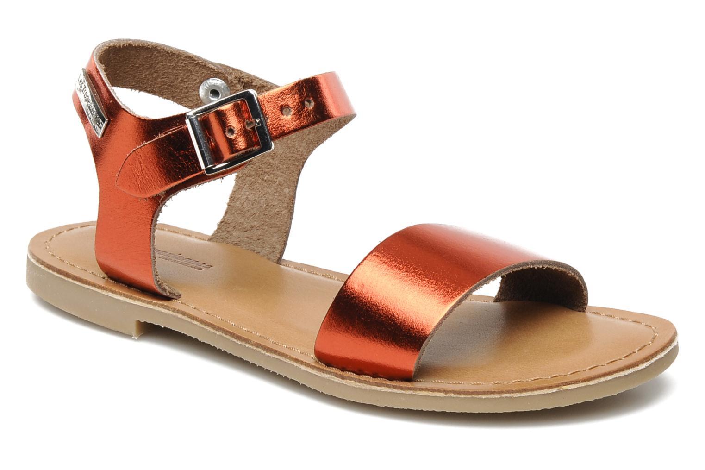 Sandaler Les Tropéziennes par M Belarbi Hiliona E Rød detaljeret billede af skoene