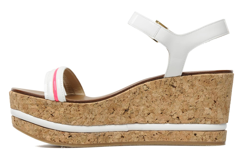 Sandales et nu-pieds Tapeet Tolly Blanc vue face