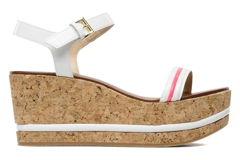Sandales et nu-pieds Tapeet Tolly Blanc vue derrière