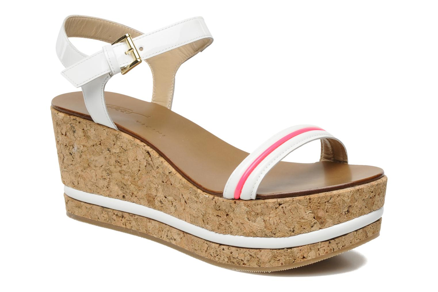 Sandals Tapeet Tolly White detailed view/ Pair view