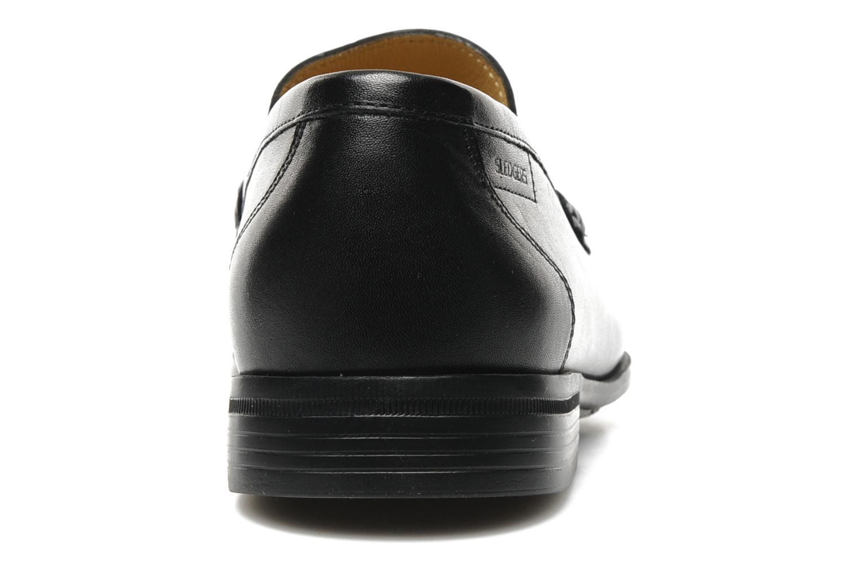 Loafers Sledgers Morris Svart Bild från höger sidan