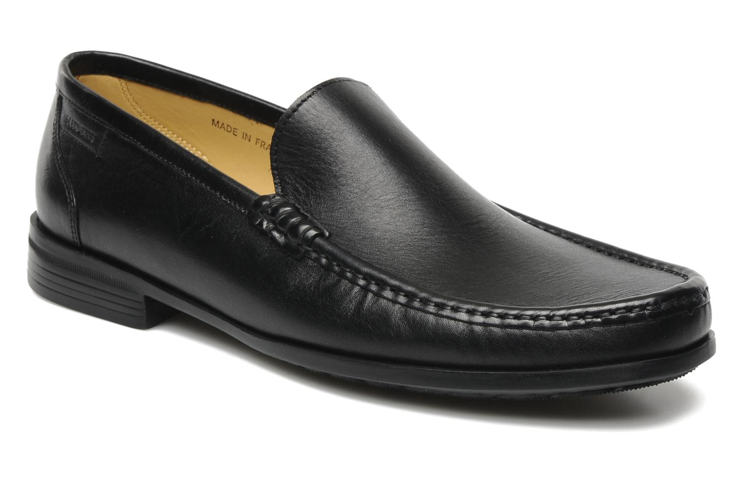 Loafers Sledgers Morris Black detailed view/ Pair view