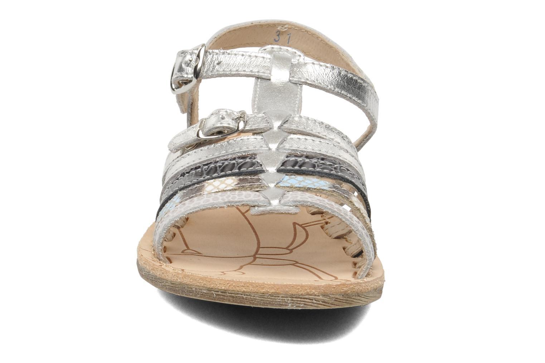 Sandales et nu-pieds Ramdam by GBB Bangkok Argent vue portées chaussures