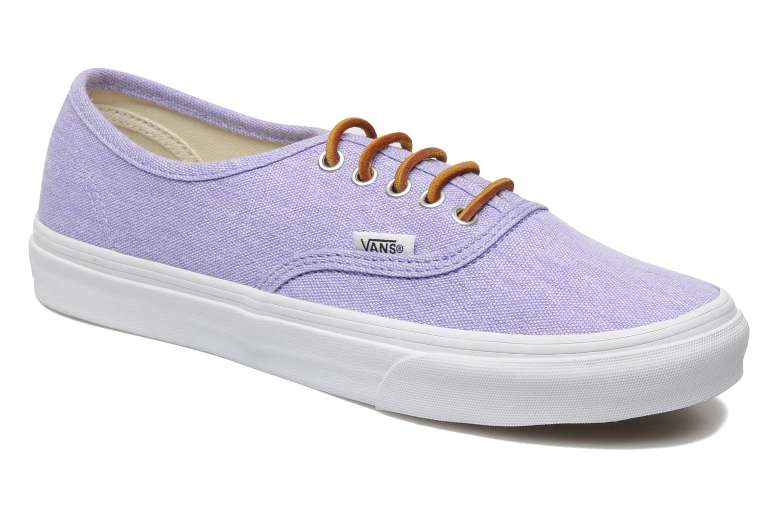 vans authentic lila