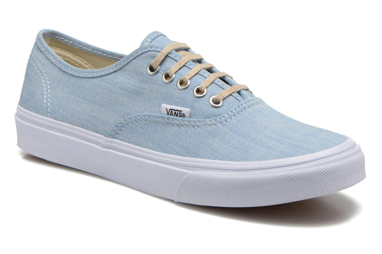 Trainers Vans Authentic Slim W Blue detailed view/ Pair view