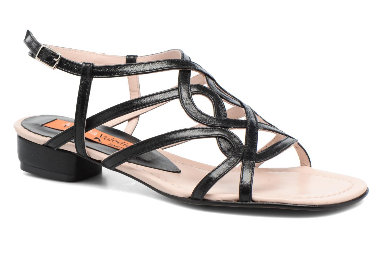 Anna Volodia Aplat (Noir) - Sandales et nu-pieds chez Sarenza (285107)
