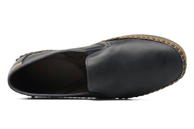 Loafers Fluchos Bahamas 8674 Blå bild från vänster sidan