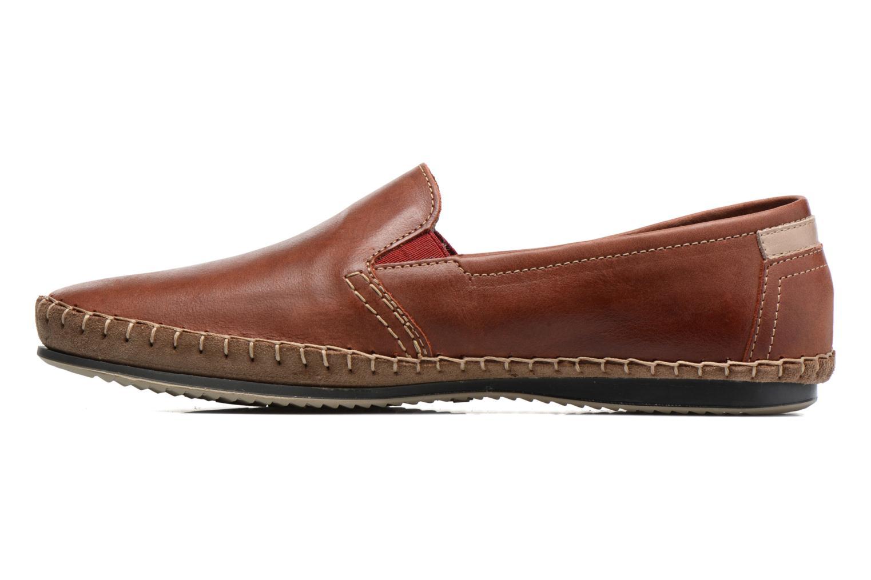 Loafers Fluchos Bahamas 8674 Röd bild från framsidan
