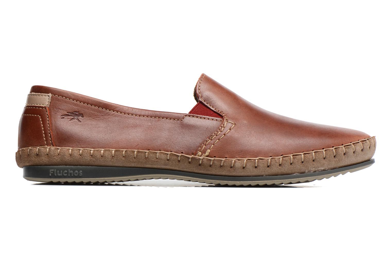 Loafers Fluchos Bahamas 8674 Röd bild från baksidan