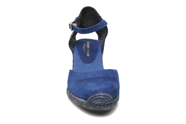 Sandales et nu-pieds Elizabeth Stuart Volga 630 Bleu vue portées chaussures