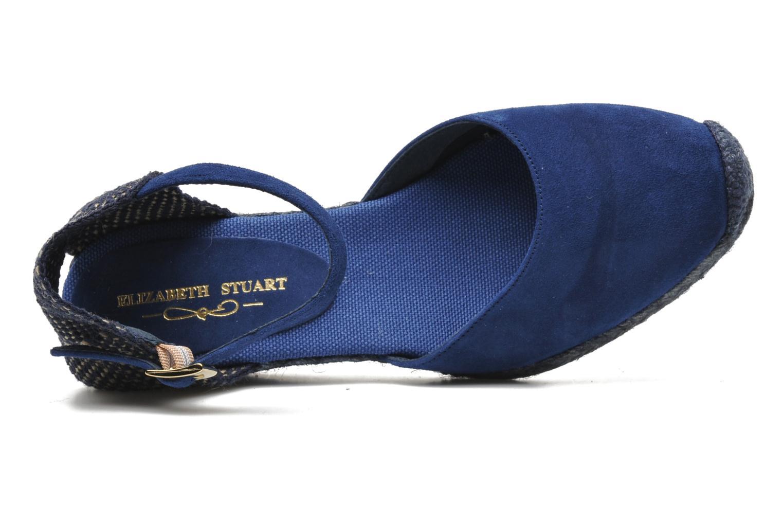 Sandals Elizabeth Stuart Volga 630 Blue view from the left
