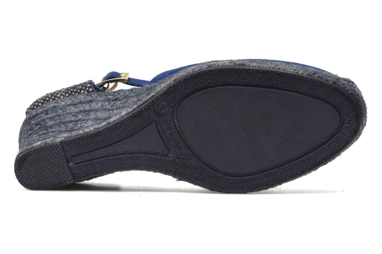 Sandales et nu-pieds Elizabeth Stuart Volga 630 Bleu vue haut