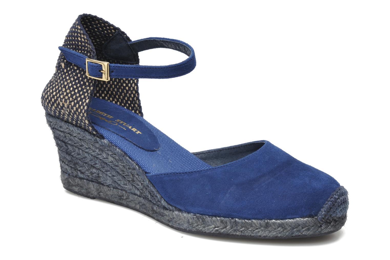 Sandals Elizabeth Stuart Volga 630 Blue detailed view/ Pair view