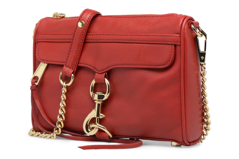 Handtaschen Rebecca Minkoff Mini MAC rot schuhe getragen