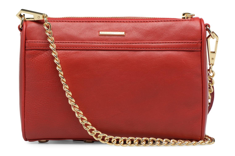 Handtaschen Rebecca Minkoff Mini MAC rot ansicht von vorne