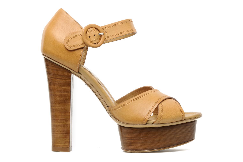 Sandali e scarpe aperte Eva Turner WOOVIE Marrone immagine posteriore