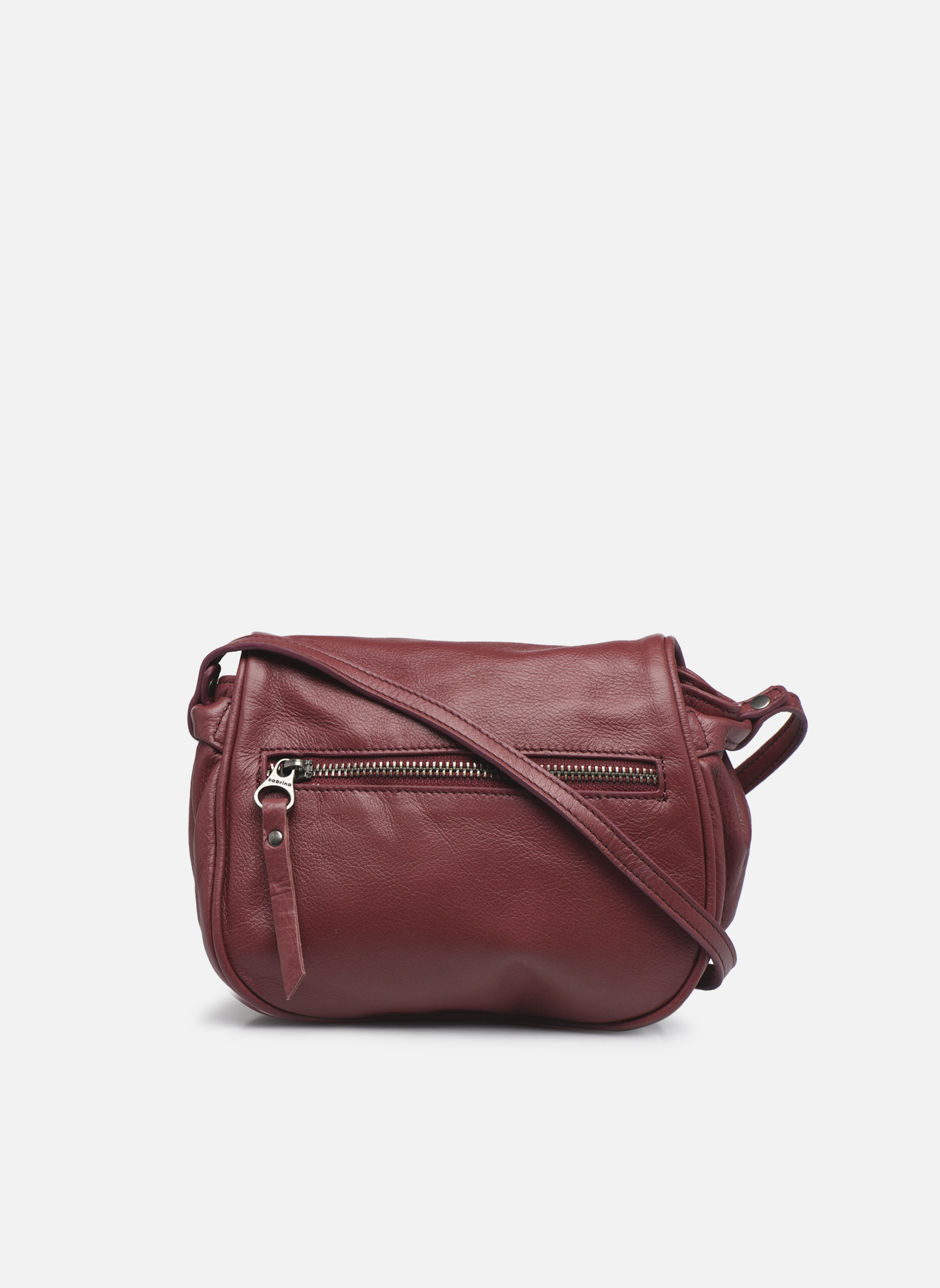 Handtaschen Sabrina Alice weinrot ansicht von vorne