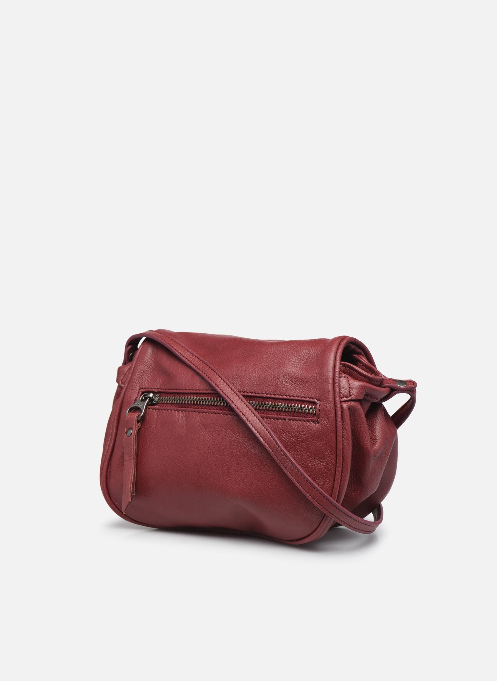 Handtaschen Sabrina Alice weinrot ansicht von rechts