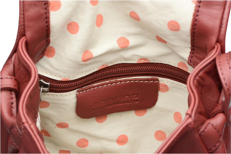 Handtaschen Sabrina Alice weinrot ansicht von hinten