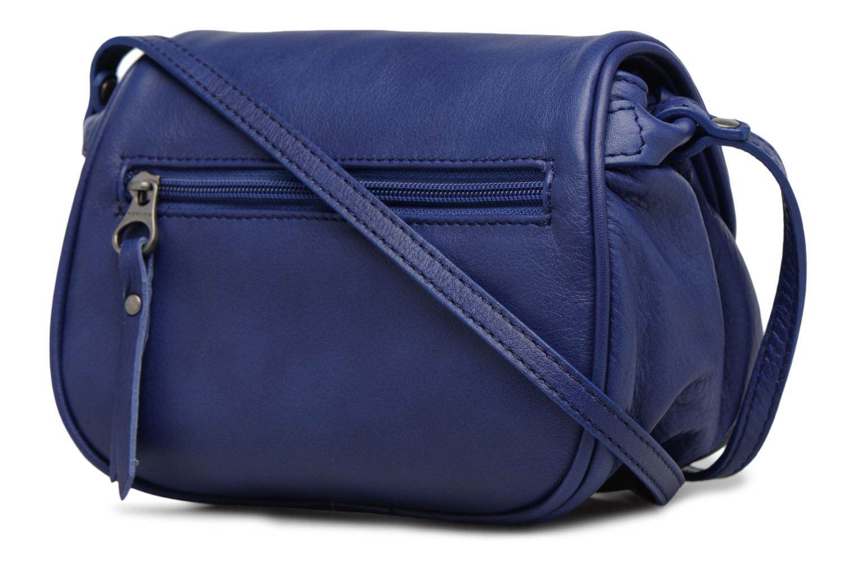 Handtaschen Sabrina Alice blau ansicht von rechts