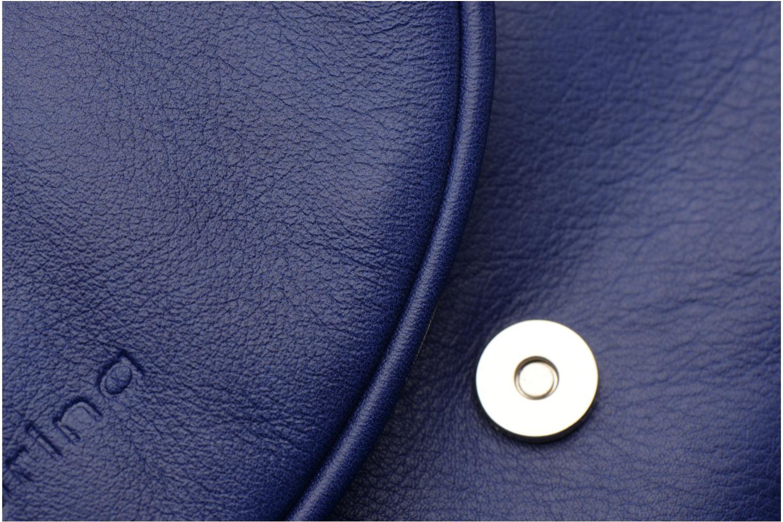 Handtaschen Sabrina Alice blau ansicht von links
