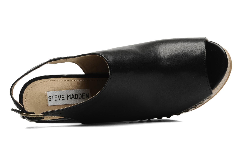 Clogs & Pantoletten Steve Madden TRYFFLE schwarz ansicht von links