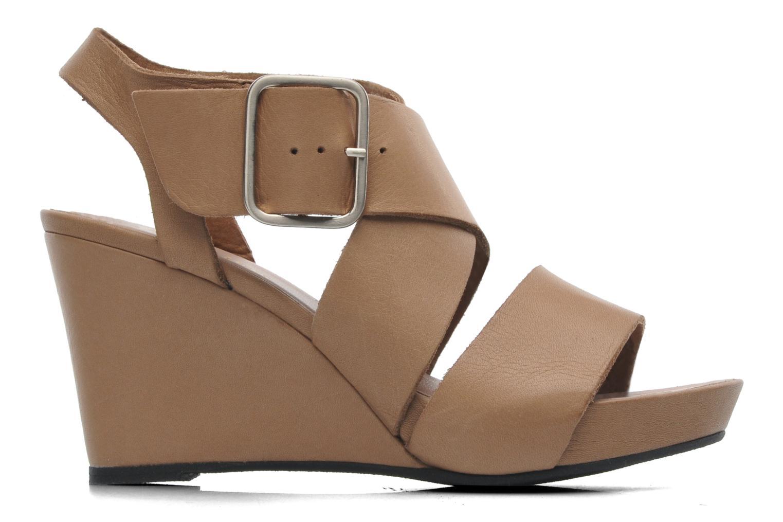 Sandales et nu-pieds Avril Gau Leli Beige vue derrière