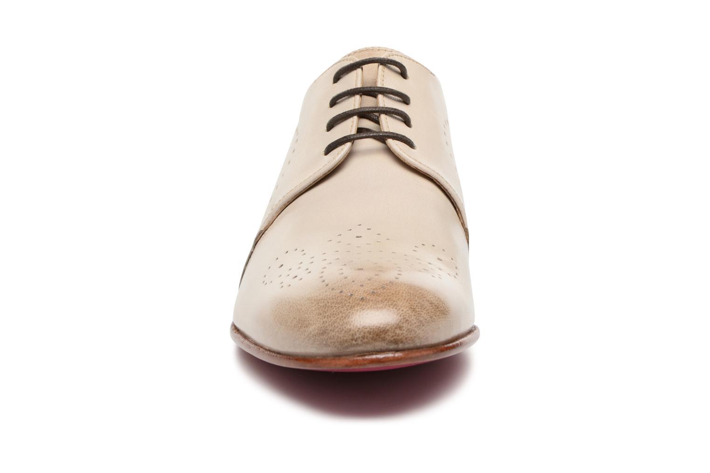 Schnürschuhe Melvin & Hamilton Sally 1 beige schuhe getragen