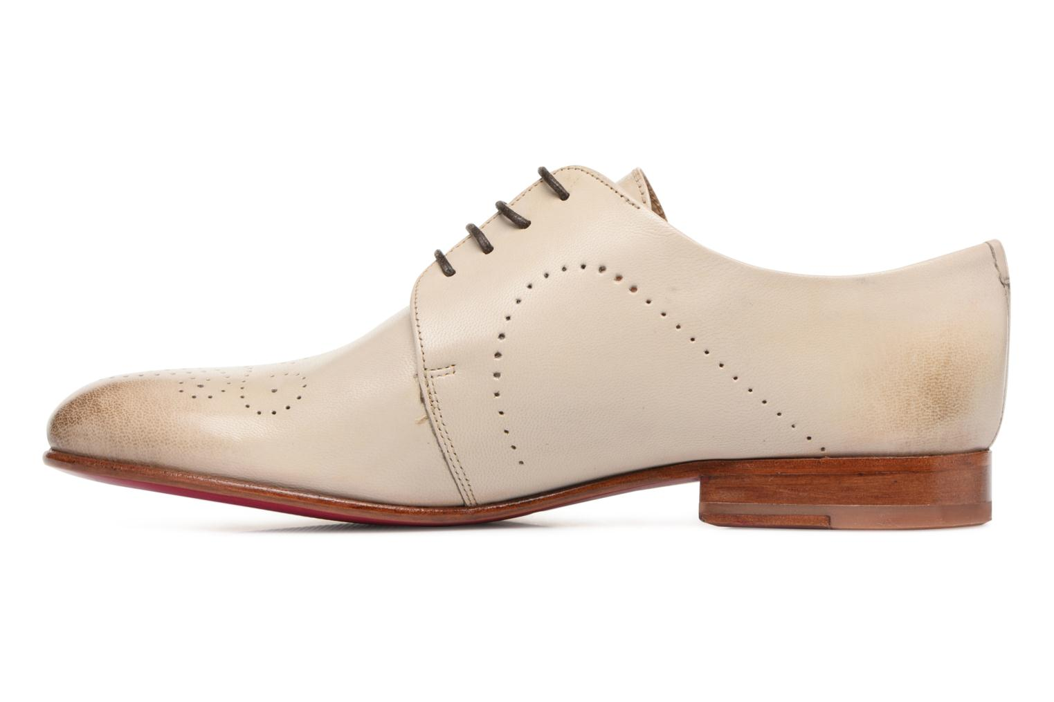 Lace-up shoes Melvin & Hamilton Sally 1 Beige front view