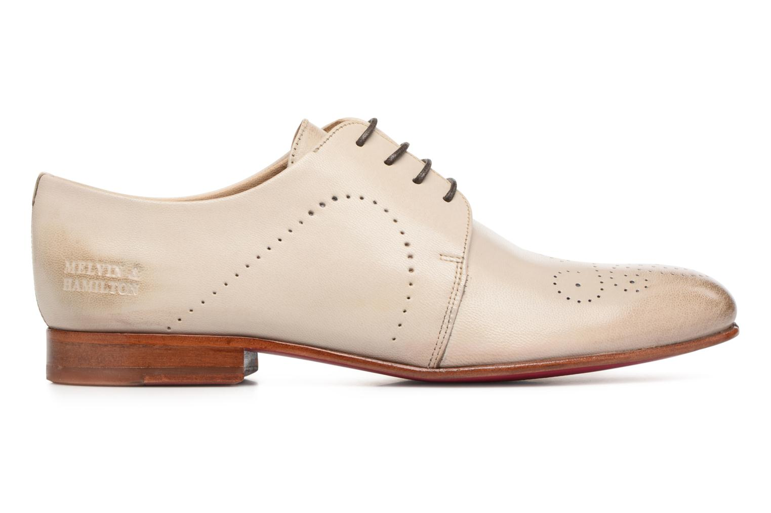 Lace-up shoes Melvin & Hamilton Sally 1 Beige back view