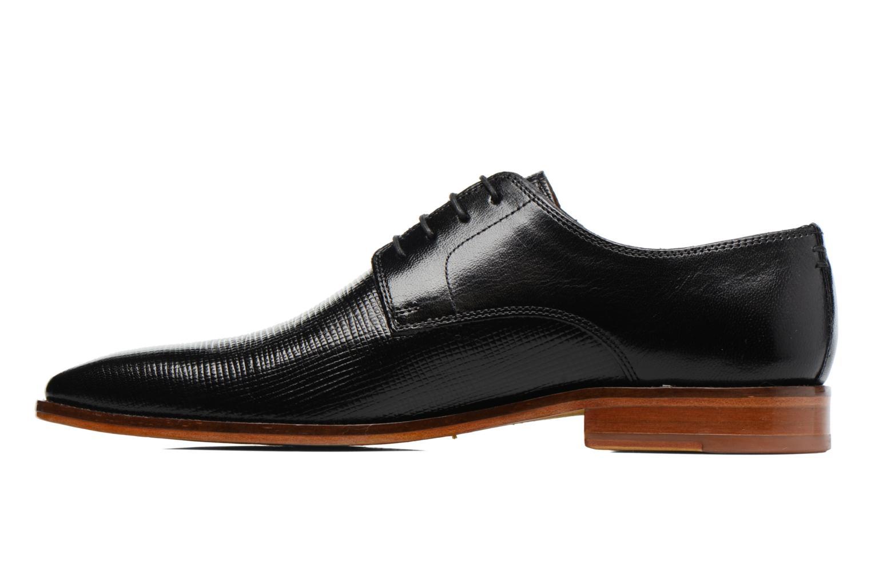 Zapatos con cordones Melvin & Hamilton Alex 1 Negro vista de frente