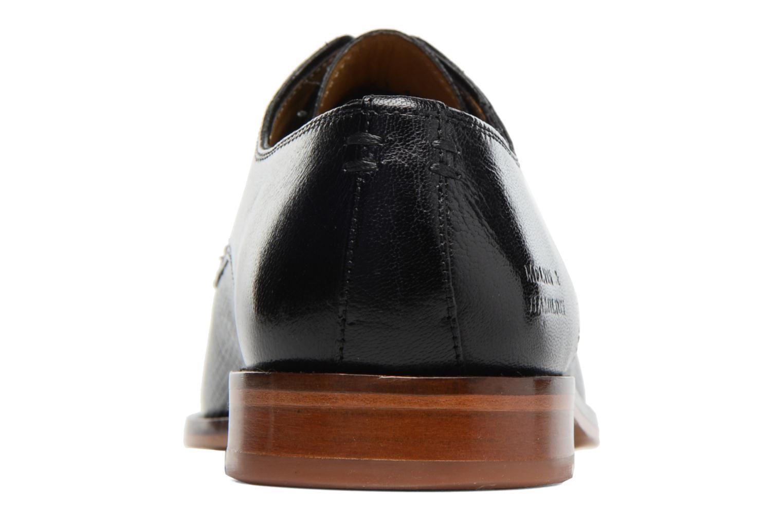 Zapatos con cordones Melvin & Hamilton Alex 1 Negro vista lateral derecha