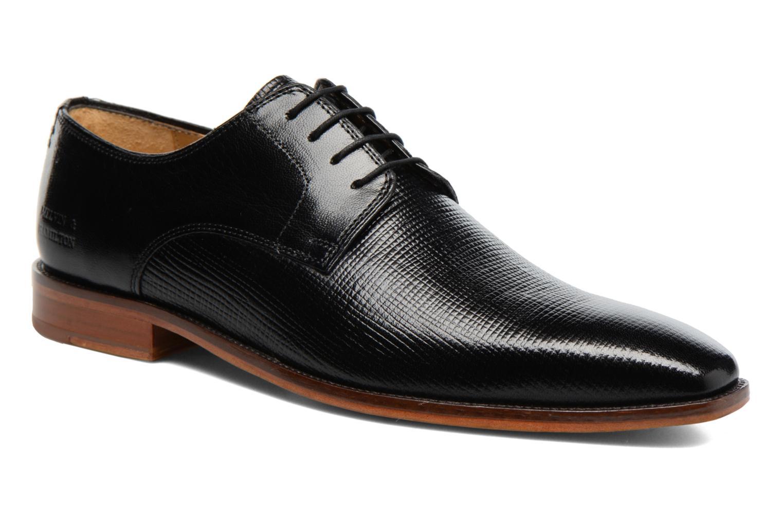 Zapatos con cordones Melvin & Hamilton Alex 1 Negro vista de detalle / par