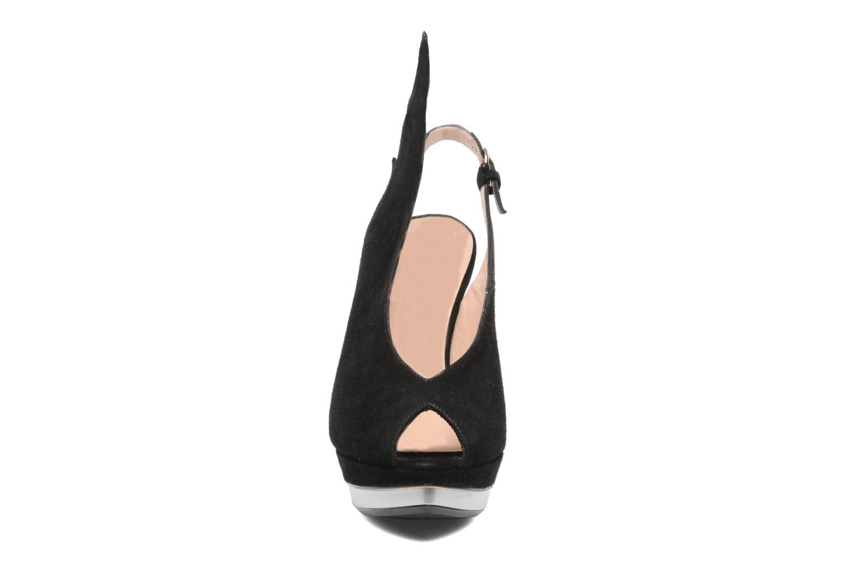 Sandalen Minna Parikka Ira schwarz schuhe getragen